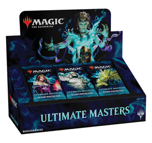 Available NOW ULTIMATE MASTERS BOOSTER BOX New Unopened with TOPPER!