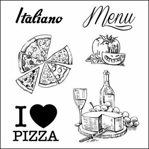 Motiv-Stempel-Discover-Italy-Menu-Italien-Pizza-Kaese-ScrapBerrys-SCB4904014b
