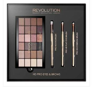 Makeup Revolution London HD Pro Eyeshadow amp Brush Set Brand New In Box Superdrug - <span itemprop=availableAtOrFrom>Leicester, Leicestershire, United Kingdom</span> - Returns accepted - Leicester, Leicestershire, United Kingdom