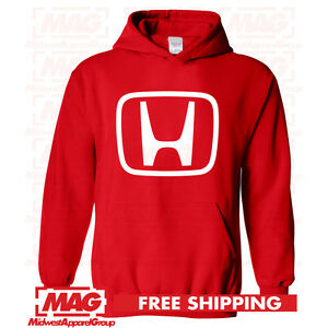 HONDA-LOGO-IN-WHITE-HOODIE-RED-Motocross-Hooded-Sweatshirt-Racing-ATV-CBR-US