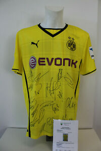 Original-signiertes-Borussia-Dortmund-Trikot-Saison-2013-2014-Teamsigniert