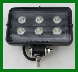 Details About Maxxima Heavy Duty 6 Led Work Flood Light 1 550 Lumens 12 36 Vdc Mwl 50sp