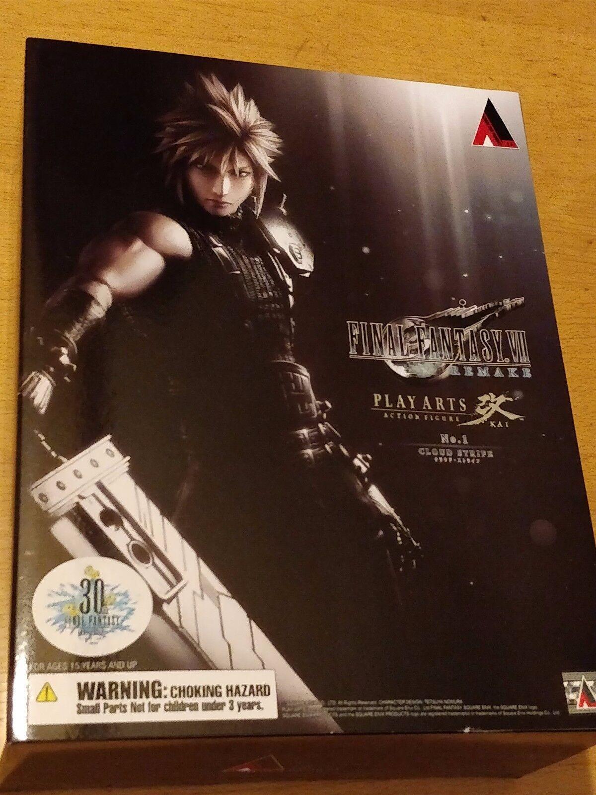 mejor marca Square Enix Final Fantasy VII (7) Nueva versión Jugar Jugar Jugar Arts Kai Figura en la nube-Nueva Sellada  marca famosa