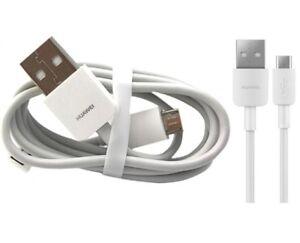 Original-Datenkabel-Huawei-Ascent-Y200-Y300-Y330-Y530-Y550-weiss-Ladekabel