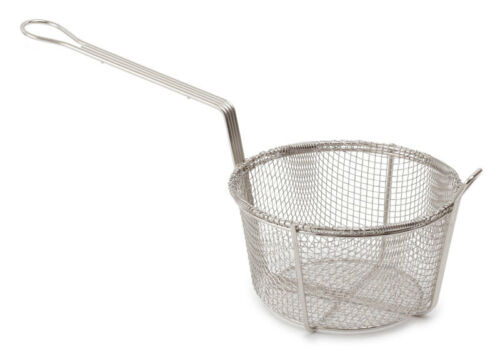 "8.5/"" Round Frying Basket ideal for chips,spring roll chicken ball,pancake roll"