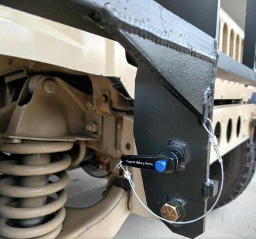 MILITARY HUMVEE M998 STANDARD DUTY BRUSH GUARD MOUNTING BRACKETS WITH HARDWARE