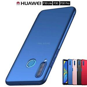 COVER-per-Huawei-P30-Lite-Pro-CUSTODIA-RIGIDA-OPACA-PELLICOLA-VETRO-TEMPERATO