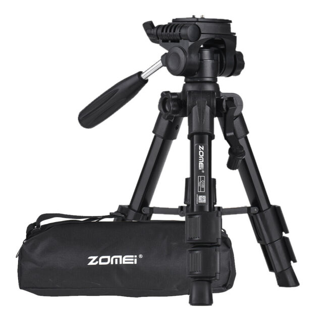 """ZOMEI Q100 20"""" Lightweight Travel Camera Tabletop Tripod For Sony Canon SLR O1K6"""
