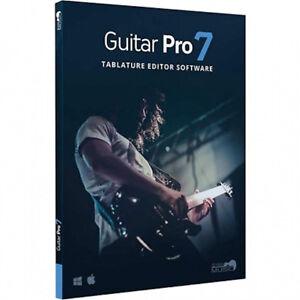 NEW Arobas Music Guitar Pro 7 Tablature Editor PC/MAC