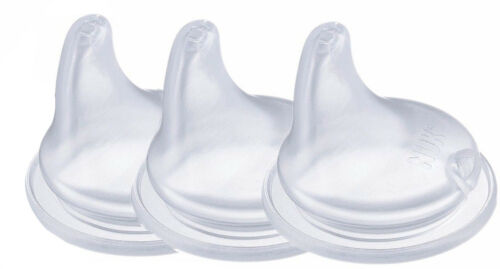 NUK First Choice  Non-Spill Silicone Spout Pack-3