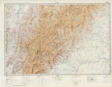 Russian Soviet Military Topographic Maps - COLOMBIA 1:500 000, ed. 1964-1988