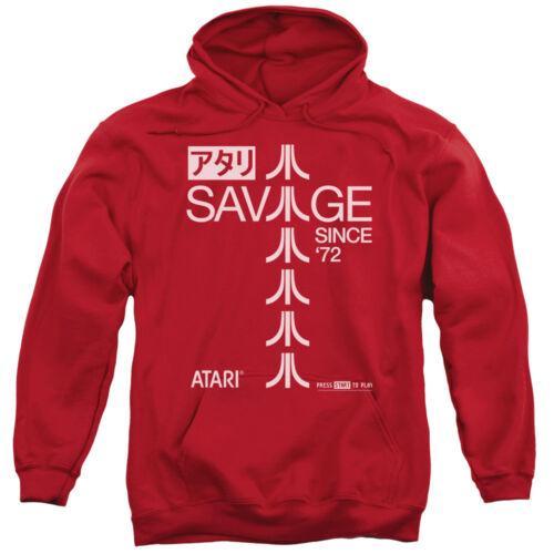Atari Hoodie Savage Since 1972 Red Hoody