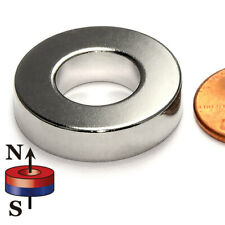 Super Strong Neodymium Magnet N52 Ring Od 1x Id 12x14 10 Pc