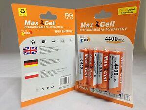 16-x-Aufladbare-Batterien-Akku-Accu-Batterie-MaxCell-4400-mAh-AA-R06-1-2V-Mignon