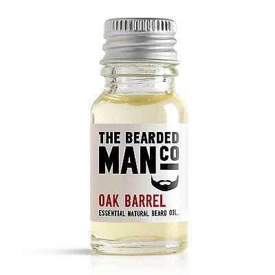 Oak Barrel The Bearded Man Co Beard Oil Conditioner Grooming Dad Movember 10ml