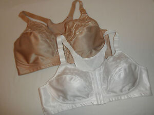 6c88c23b84 NWT Playtex 4643 Bra 18-Hour Posture and Back Support Wire-free Nude ...