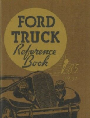 FORD HEAVY DUTY TRUCK 1937 Owner/'s Manual 37