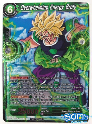 P-136 Overwhelming Energy Broly Series 7 Pre-Release Dragon Ball Super Card