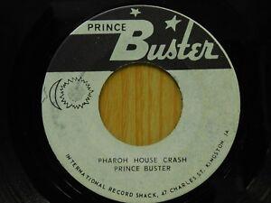 Prince-Buster-45-Pharaoh-House-Crash-on-Prince-Buster-rocksteady-Jamaican