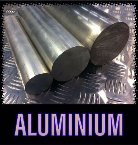 Aluminium Solid Round Bar 33mm X 240mm 6061-T6 Mill//lathe//hobbyists