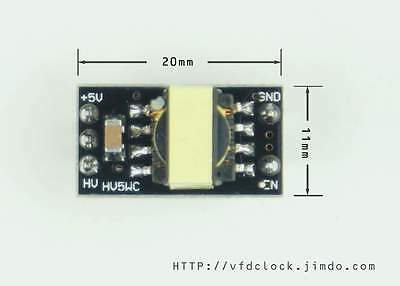 [Type C]-5Vin-170Vout-HV5W HIGH VOLTAGE NIXIE POWER SUPPLY MODULE-NIXIE TUBE ERA