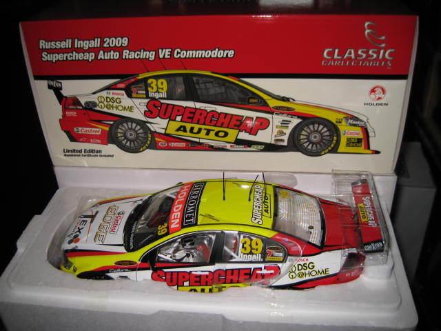 Carlectable 1//18 Holden Supercheap Auto Racing 2009 18397