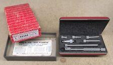 Fine Unused Starrett No823az Tubular Inside Micrometer With Case And Box