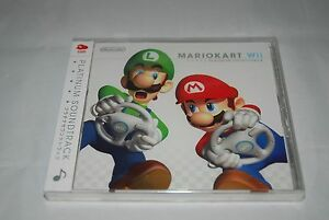 NEW-MARIOKART-Wii-Platinum-Soundtrack-CD-Club-Nintendo-Japan-import-sealed