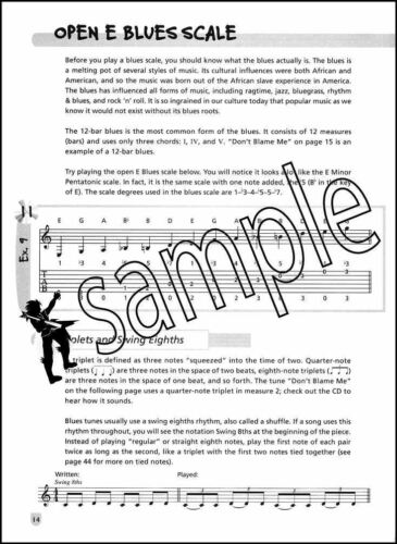 Easy Soloing for Acoustic Guitar TAB Music Book with CD Fun Lessons Method