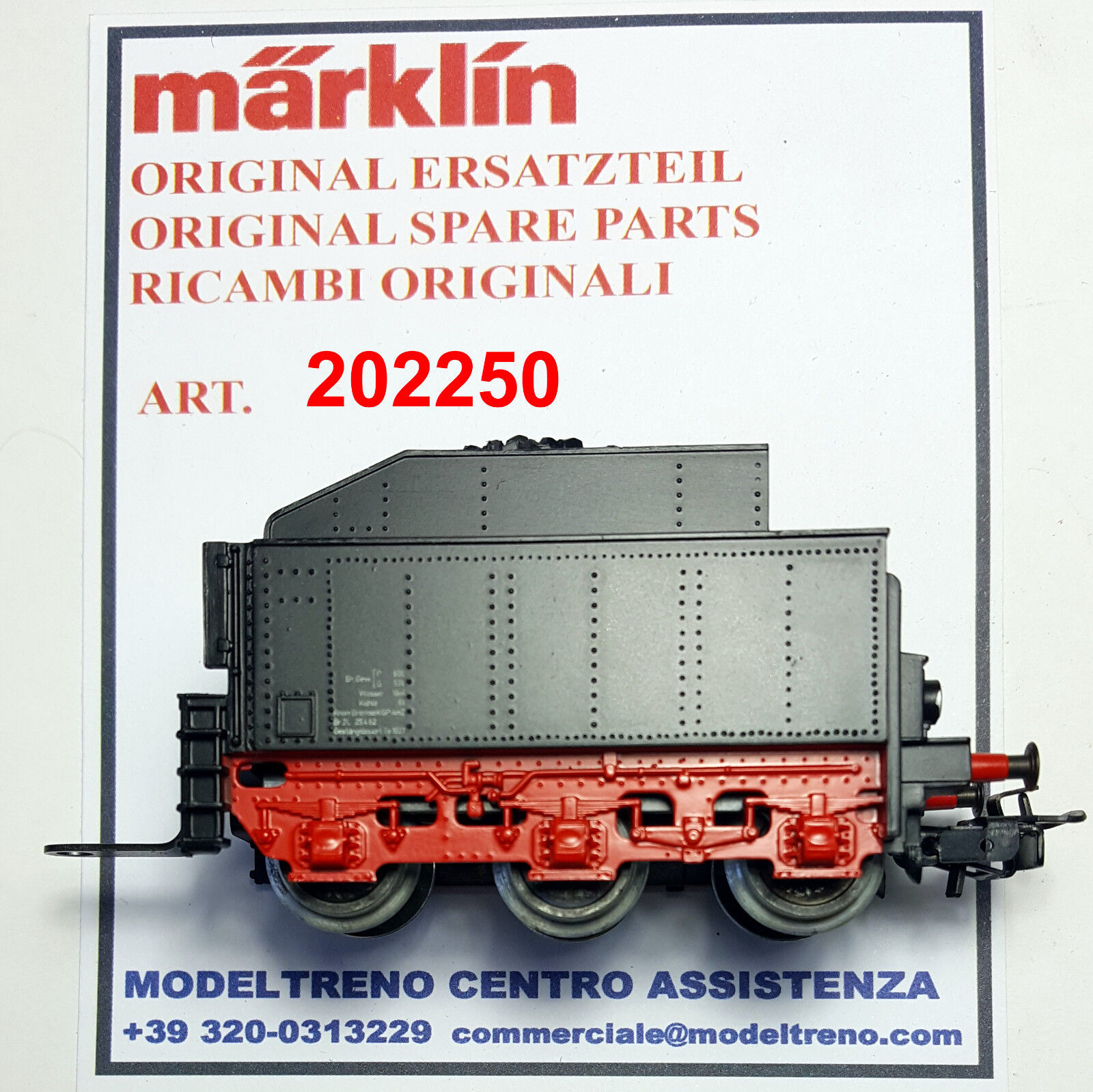 MARKLIN 20225 - 202250 TENDER COMPLETO - TENDER KOMPLETT  3003