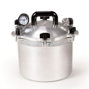 All-American-915-15-Qt-Heavy-Cast-Aluminum-Pressure-Cooker-Canner-NEW