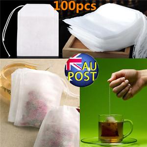 100pcs-Empty-Teabags-String-Heat-Seal-Filter-Paper-Herb-Loose-Tea-Bags-Hot-AU