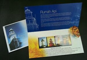 SJ-Historical-Buildings-Lighthouse-Malaysia-2004-Marine-p-pack-MNH-toning