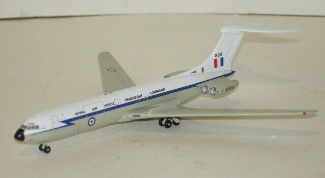1 400 Jetx Vickers VC-10 Transport Command RAF scale model diecast new