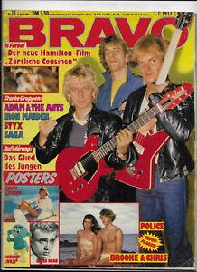 BRAVO-Nr-11-vom-5-3-1981-Udo-Lindenberg-Abba-Adam-amp-the-Ants-Police-Paola