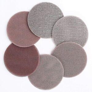 5 Inch Mesh Abrasive Sanding Discs 30PCS 60 80 120 180 240 320 Grit Sandpaper