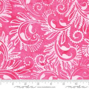 Bahama-Batiks-Moda-cotton-batik-fabric-by-half-yard-Hot-Pink-4352-28-pink