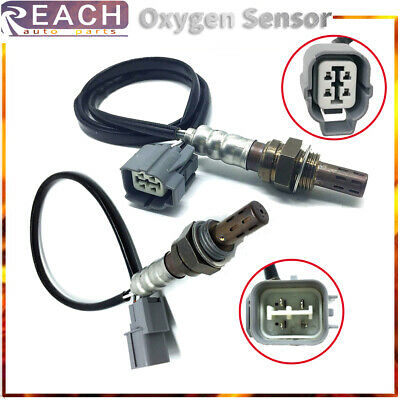 2Pcs Upstream Downstream O2 Oxygen Sensor For Honda Odyssey V6 3.5L 2004-1999