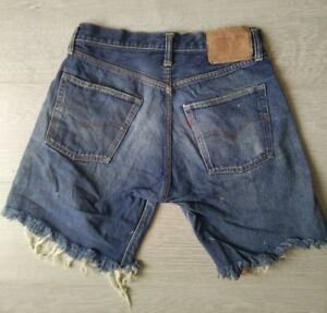 High Levisbig E Jeans Rare 501Authentic Vintage Shorts Waisted 27w Hotpants rdBoWxeC