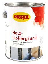 Pigrol Holz Isoliergrund 2,5L weiss Isolierfarbe Haftprimer Wetterschutzfarbe