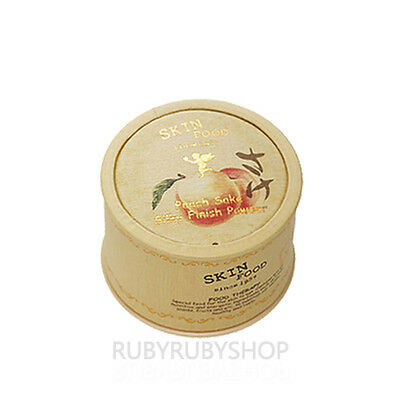 [SKINFOOD] Peach Sake Silky Finish Powder - 15g