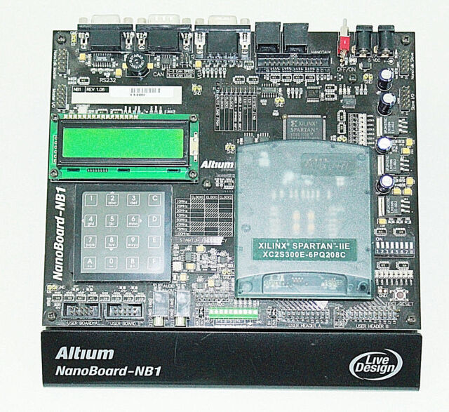 Altium NanoBoard-NB1 legacy Development Platform FPGA Design