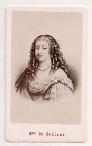 Vintage-CDV-Francoise-Marguerite-de-Sevigne-French-aristocrat-E-Neurdein-Photo