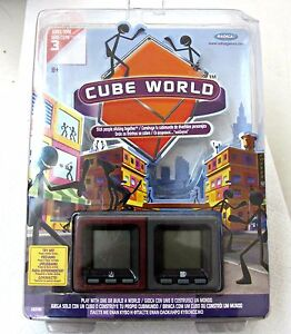 Cube-World-Radica-Handheld-Game-Sparky-Toner-Brand-Series-3-Model-16092-New