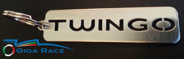 RENAULT TWINGO CAR KEY CHAIN KEYCHAIN KEYS RING PENDANT STEEL