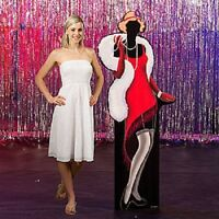 1920's Flapper Girl Standee Twenties Theme Party Decorations Standups