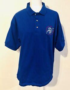 RARE-1996-Walt-Disney-World-25-Years-Of-Magic-M-Button-Collared-Mens-Shirt-NWT