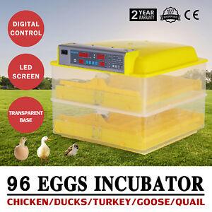 96-Digital-Egg-Incubator-Hatcher-Temperature-Control-Turning-Chicken-CE