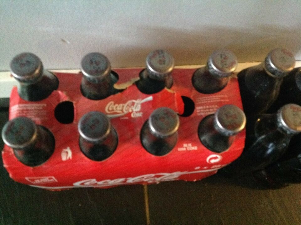 Flasker, Coca Cola