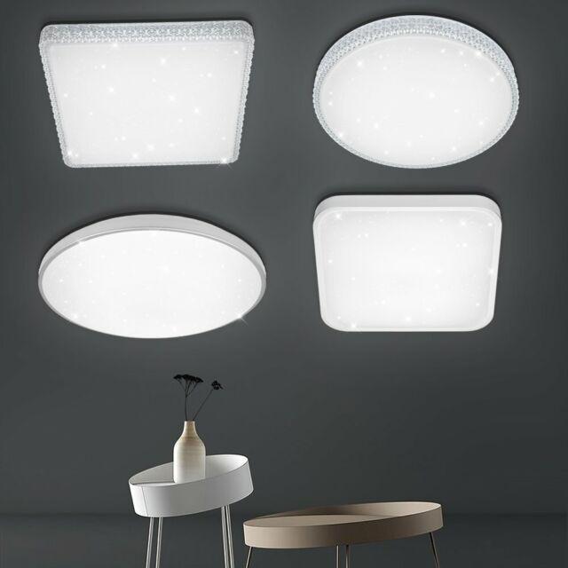 12W-60W LED Deckenleuchte Wohnzimmer Sternenhimmel Badleuchte Wandlampe IP44